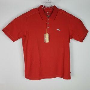 Tommy Bahama Polo Golf Shirt Large The Emfielder